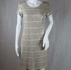 DONNA RICCO Sequin Dress